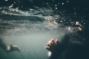 swimming and oxygen